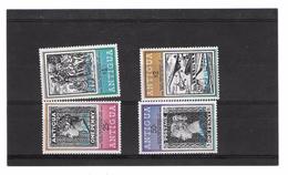 EDY 186 - BARBUDA  , Quattro Valori *** ROWLAND HILL - Antigua E Barbuda (1981-...)