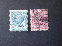 ITALIA COLONIE  LIBYE LIBYA 1912.FRANCOBOLLI D ITALIA I TIPO  @ - Tripolitania