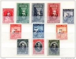 1er Exposition De Smyrne, 709 / 719*, Cote 130 €, - 1921-... Republic