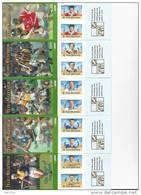 Irlande 2000 Carnets N°1264 - 1267 - 1269 - 1273 - 1276  Neufs ** Sport Hurling - Carnets