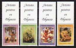 POLYNESIE FRANCAISE    Neuf **    Y. Et T.   N° 422 / 425       Cote: 7,00 Euros - Nuovi