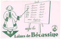 La Bé/ Buvard   Laine Bécassine - L