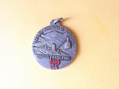 Medaglia Azienda Autonoma Di Soggiorno - Sestriere - Abbadia Alpina 1° Motoraduno Nazionale 1981 -ME107 - Altri