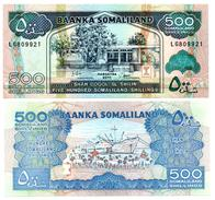 Somaliland - 500 Shillings 2011 (UNC) - Somalia