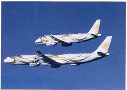 Aviation Postcard- SAAD  Airbus 320,340  (SET-2) - 1946-....: Moderne