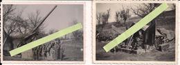 1940 France Dca DAT Flak Canon De 75mm Anti-aériennouveau Modèle Servants  Ww2 2wk 39/45 1939-1945 - War, Military