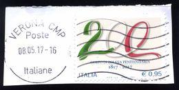 Italia Italy Italie 2017 - 200° Anniversario Dell'istituzione Del Corpo Di Polizia Penitenziaria - - 6. 1946-.. Repubblica