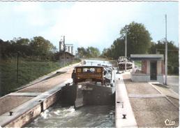 BERRY AU BAC - CPSM - ECLUSE N0 1  CANAL DE L'AISNE A LA MARNE (vue 3) - Autres Communes