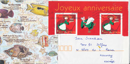 France Cover With Special Cachet Sent To Norway 18-8-2007 - France