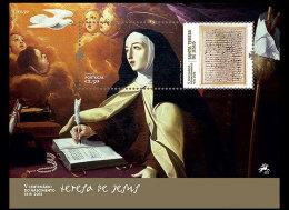 PORTUGAL 2015. ST.TERESA DE JESUS MINIATURE SHEET AND SET - Ungebraucht