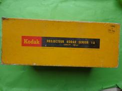 Boite Carton  Seule Pour Projecteur Kodak Senior 1A Long 31cm-larg 12cm Haut 16cm - Photographie