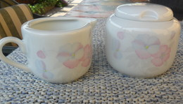 Zuccheriera E Lattiera Della Royal Porcelain - - Céramiques