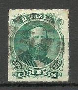 BRAZIL Brazilia 1876 Michel 34 O - Used Stamps