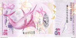Bermuda - Pick 58 - 5 Dollars 2009 - Unc - Bermudes