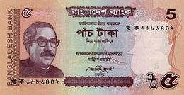 Bangladesh 2012, 5 Taka (**) UNC - CF2291 - Bangladesh