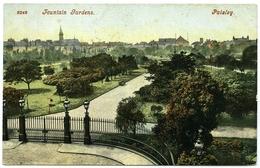 PAISLEY : FOUNTAIN GARDENS - Renfrewshire