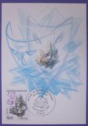 Carte Postale Maximum - FDC - Série  Nature Minéraux Calcite - 1986 - YT 2431 - Cartes-Maximum