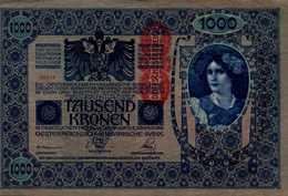 AUTRICHE HONGRIE 1000 KRONEN Du 1919nd   Pick 59  XF/SUP - Oesterreich