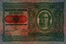 AUTRICHE HONGRIE 100 KRONEN Du 2-1-1912   Pick 12?  XF/SUP - Autriche