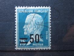 BEAU TIMBRE DE FRANCE N° 219 , XX !!! - 1922-26 Pasteur