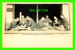 JAPON - OEUVRE DES ÉTUDIANTS JAPONAIS, JEUX DE GO ET DE CARTES - - Japon