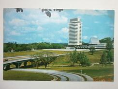 Postcard National Parliament House Kuala Lumpur From Overhead Bridge Malaysia By SW Singapore  My Ref B11221 - Malaysia