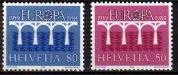 CEPT 1984- Switzerland / Schweiz - 2 V Paper - MNH** - Europa-CEPT