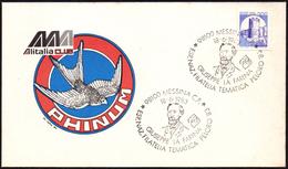 ITALIA MESSINA 1983 - PELORO ´83 - ESPOSIZIONE FILATELIA TEMATICA - GIUSEPPE LA FARINA - POLITICO / PATRIOTA - Expositions Philatéliques