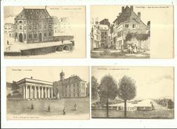 Vieux Liège ( Série Héliotypie De Graeve De Gand ) Lot De 9 Cartes 1900 - Liège