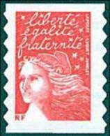 France Marianne Du 14 Juillet N° 3419 ** Ou 30 Autoadhésif - Luquet Le TVP Rouge -> RF - 1997-04 Marianne Van De 14de Juli