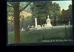 Manchester   Gen Stark's  Burial  Place - Manchester