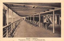 Paquebot Paris Compagnie Générale Transatlantique - Piroscafi