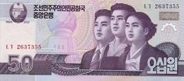 Corea Del Norte 2002, 50 Won (**) UNC - CF2294 - Corea Del Norte