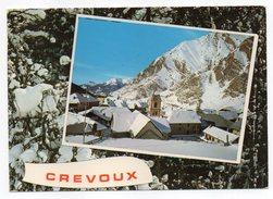 CREVOUX (alt 1600m-2000m) --1982--Vue Générale Cpm N° 483 éd Cellard--cachet EMBRUN-05 - Autres Communes