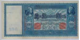 Germany 100 Mk. 1910, AUNC!!!! Rare. - 1871-1918: Deutsches Kaiserreich