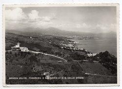 Italie--GENOVA VOLTRI--Panorama E Santuarion DI N-s Delle Grazie ,cpsm 15 X 10 N° ???  éd G.Blundo - Genova (Genoa)