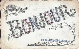 VELAINE Sur SAMBRE -un Bonjour De (écrite) - Sambreville