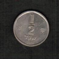 ISRAEL   1/2 SHEQEL 1980 (JE 5740)  (KM #109) - Israel