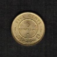 SOMALIA  5 CENTESIMI 1967 (KM # 6) - Somalia