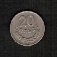 POLAND  20 GROSZY 1949 (Y # 43) - Poland