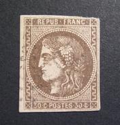 LOT GD/492 - CERES EMISSION DE BORDEAUX N°47 - LGC - Cote : 250,00 € - 1870 Emission De Bordeaux