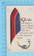 Paris VE 13 -  Qu'elles Sont Aimables Tes Demeures Seigneur Dieu Des Armées.. - Holy Card Image Pieuse Santini - 2 Scans - Devotion Images