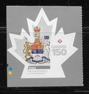 CANADA 2017, #3005  CANADA 150th    THE CONSTITUTION - Carnets