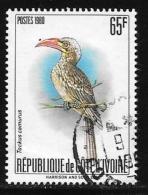 Ivory Coast, Scott # 580B Used Bird, 1980 - Ivory Coast (1960-...)