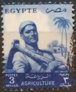 EGIPTO 1954 -1955 Serie Basica. Agricultor. USADO - USED. - Egipto