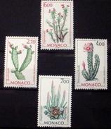 MONACO # 2086-2089.  Flowering Cacti.  MNH (**) - Monaco