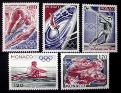 MONACO # 1025-1029.  XXI Olympics - Montreal.  MNH (**) - Summer 1976: Montreal