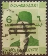 EGIPTO 1953 Serie Basica. Ry Fuad. Sobrecargado. USADO - USED. - Egipto