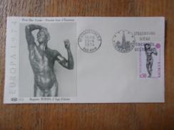 FRANCE (1974) EUROPA Sculpture RODIN (strasbourg) - Zonder Classificatie