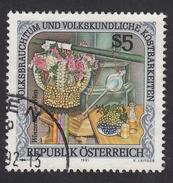 ÖSTERREICH 1991 - Wein, Weintrauben,Weinheber, Winzerkrone - Wein & Alkohol